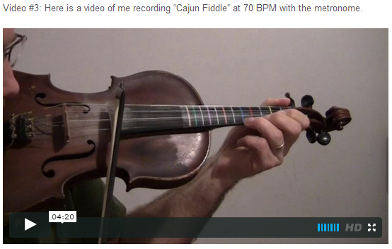 "This is an online fiddle lesson for the tune ""Cajun Fiddle."" BluegrassDaddy.com is your best source for Bluegrass, Old-Time, Celtic, Gospel, and Country fiddle lessons!"