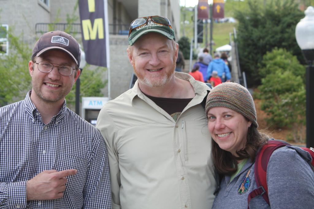 John, Randy and Rebecca