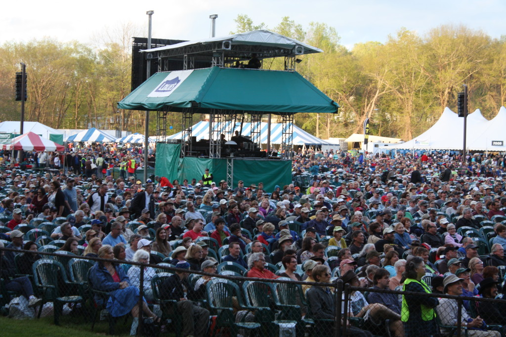 Watson Stage crowd