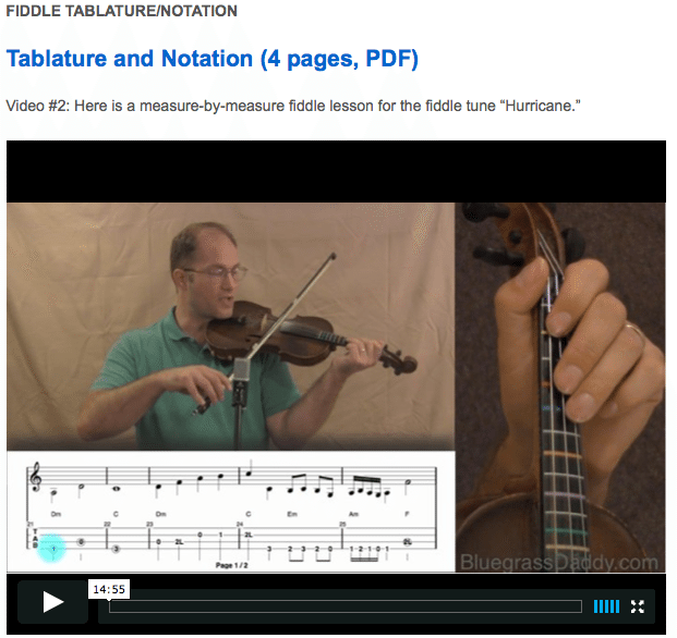 Hurricane -  Online Fiddle Lessons. Celtic, Bluegrass, Old-Time, Gospel, and Country Fiddle.