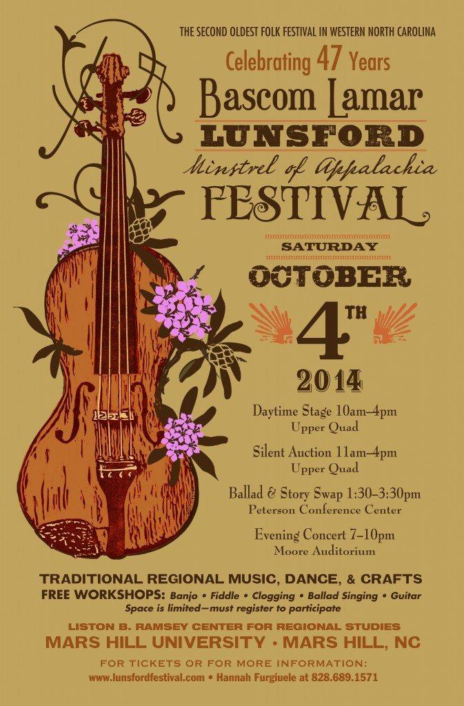 Bascom Lamar Lunsford Festival