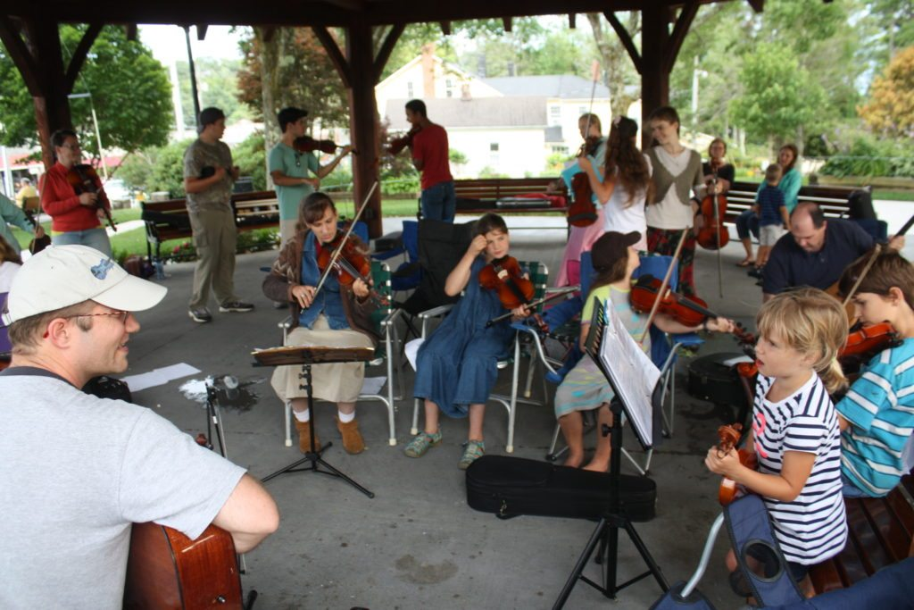 Bluegrass Daddy Fiddle Camp