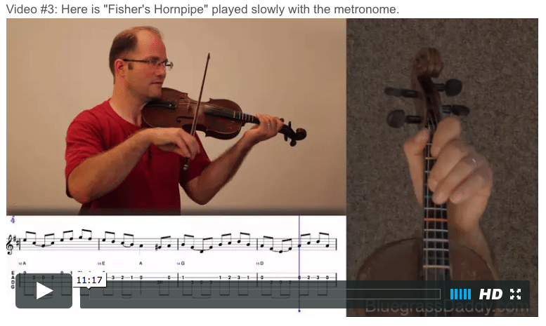 Fisher's Hornpipe - Online Fiddle Lesson