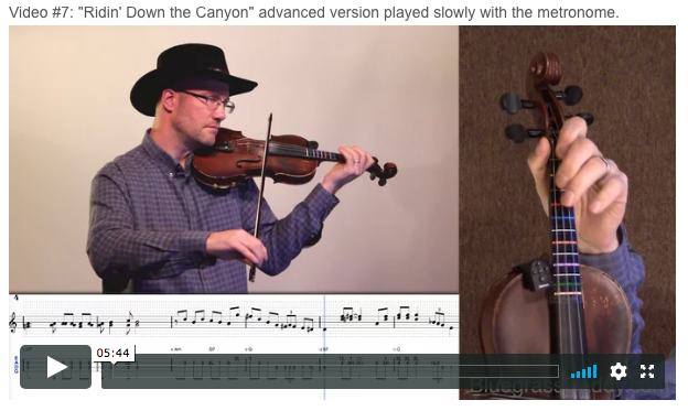 Online Fiddle Lessons