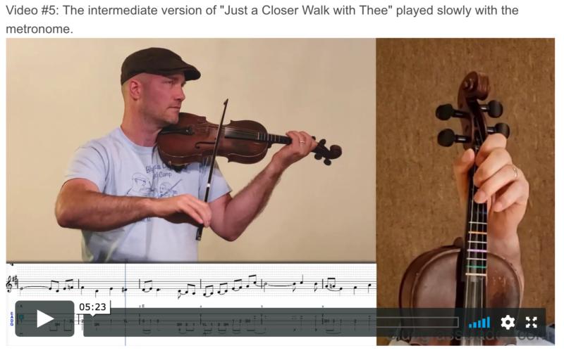 Online Fiddle Lesson